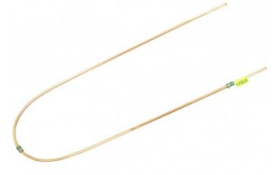Трубка тормозная ГАЗ 3302, 3110, 24, 2410 (д.5)150 см от шлага к муфте (Медь)