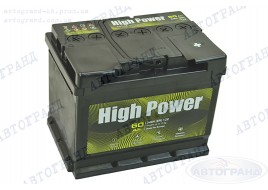 Аккумулятор 60 Ач пуск 540А (0) (EU) High Power