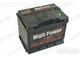 Аккумулятор 62 Ач пуск 600А (0) (EU) (гарантия 3 года) High Power Max