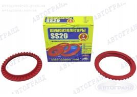 Шумоизолятор передней подвески 2108, 2109, 21099, 2110-2115 резина (к-кт 2 шт) SS-20