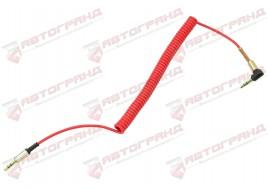 Кабель AUX пружина (красный)