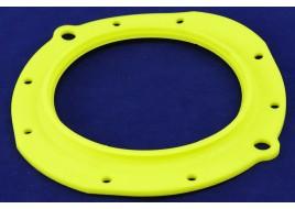 Ремкомплект УАЗ 3160, 3163 поворотного кулака (сальник) полиуретан желтый