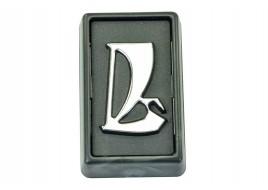 Эмблема 2106 (заводской знак) без рамки хром