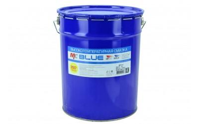Смазка МС 1510 BLUE высокотемпературная комплексная литиевая 18 кг евроведро 20 л. VMPAUTO