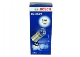 Лампа освещения 24V R5W BA15S (пр-во BOSCH)