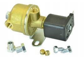 Электроклапан газа латунь с нижним фильтром (вход 6мм) TOMASETTO