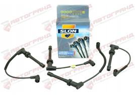 Провода высоковольтные 2110-2112, 2170  (инжек. 16 кл. 1.5) силикон (бронепровода) SLON