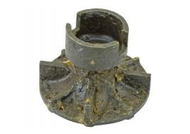 Крыльчатка помпы УАЗ, ГАЗ 2401 (417 дв) 90л.с.(голая) старый образец