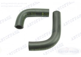 Патрубки системы отопителя 2121-21214 (патрубки печки) (к-кт 2 шт) БРТ