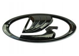 Эмблема Лада черная (заводской знак) новый образец УРБАН, ВЕСТА