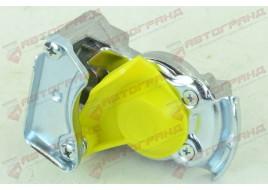 Пневмосоединение без клапана M22x1.5 (желтое)