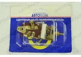 Переключатель света УАЗ 469 центральный П312 (под винт) АВТОКАМ г.Лысково