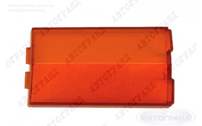 Рассеиватель фонаря 2101 оранжевый