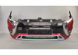 Бампер Mitsubishi Outlander 3 PHEV 2.4 G передний в сборе (6400K840) (2013-нв) оригинал б/у