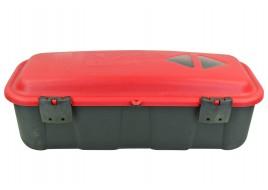 Ящик для огнетушителя АДР 6-9kg горизонтальный с уплотнителем (два крепления) с дефектом