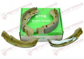 Задние тормозные колодки Авео Т250 1.2-1.5 задние GROG