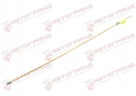 Трубка тормозная ГАЗ 53, 3307, 66, УАЗ (д.6) 75 см от шланга к сигнализатору (Медь)