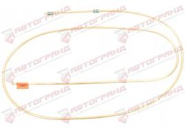 Трубка тормозная ГАЗ 53, 3307, 66, УАЗ (д.6)240 см от сигнализатора к усилителю перед тормоз (Медь)