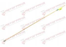 Трубка тормозная ГАЗ 53, 3307, 66, УАЗ (д.6) 65 см от полости главного цилиндра к шлангу (Медь)