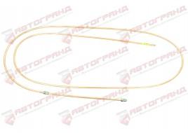 Трубка тормозная ГАЗ 53, 3307, 66, УАЗ (д.6)300 см от усилителя к тройнику передних тормозов (Медь)