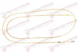 Трубка тормозная ГАЗ 53, 3307, 66, УАЗ (д.6)290 см от усилителя передних тормозов к тройнику (Медь)