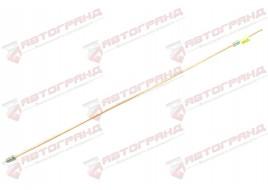 Трубка тормозная ГАЗ 53, 3307, 66, УАЗ (д.6) 80 см от тройника к левому переднему тормозу (Медь)