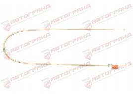 Трубка тормозная ГАЗ 53, 3307, 66, УАЗ (д.6)150 см от усилителя задних тормозов к шлангу (Медь)