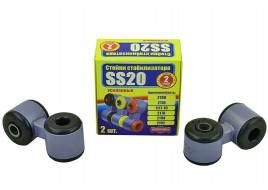 Стойка переднего стабилизатора 2108, 2109, 21099, 2113, 2114, 2115 (резина) (яйца к-кт 2 шт) SS-20