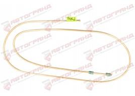 Трубка тормозная ГАЗ 3302, 3110, 24, 2410 (д.5)200 см от муфты к регулятору (Медь)