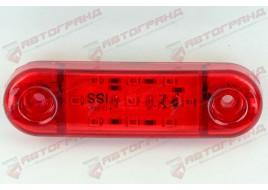 Фонарь гирлянды красный диод LED на 9 диодов