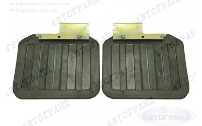 Брызговики ГАЗ 3110 задний (новый образец) (к-кт 2 шт) с креплением Иваново
