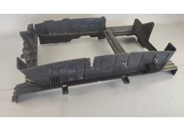 Панель радиатора охлаждения Hyundai Santa Fe 4 2.2 D (29135S1000) (2018-нв) оригинал б/у