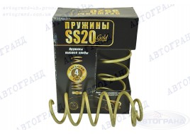 Пружина передней подвески 1118, 1119, 2190 (8 кл дв) Gold Progressive (к-кт 2 шт) SS-20