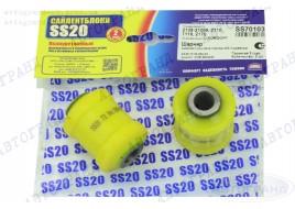 Сайлентблок нижнего рычага 2108, 2109, 21099, 2110-2115 полиуретан (к-кт 2 шт) SS-20
