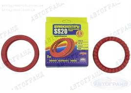 Шумоизолятор задней подвески 2108, 2109, 21099, 2110-2115 резина (к-кт 2 шт) SS-20