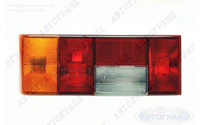 Корпус фонаря 2108, 2109, 21099, 2113, 2114 левый желтый поворот без платы (аналог ДЗС) ТехАвтоСвет