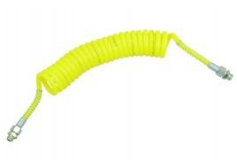 Шланг пневматический POLIURITAN M16x1.5MM (наружный) XM18x1.5MM ( внутр)  желтый 5M