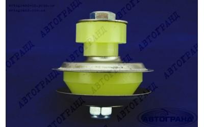 Подушка двигателя УАЗ 469 (коробки) в сборе полиуретан желтый