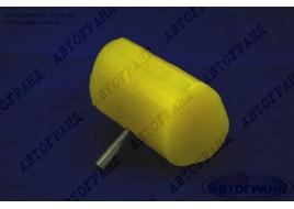 Отбойник рессоры ГАЗ 3302, 2705 задней полиуретан желтый