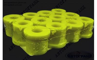 Втулка рессоры УАЗ 3160, Хантер полиуретан желтый (к-кт 12 шт)