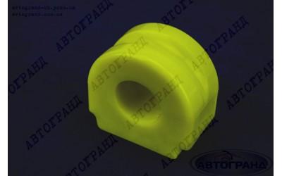 Подушка штанги стабилизатора УАЗ 3160 боковая полиуретан желтый d-24 Липецк