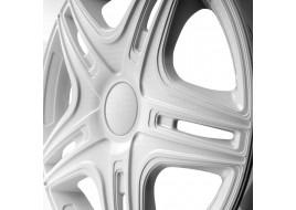 Колпак колесный Дакар белый (карбон) R14 (к-кт 4 шт) STAR