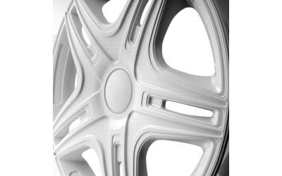 Колпак колесный Дакар белый (карбон) R13 (к-кт 4 шт) STAR