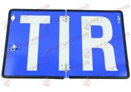 Таблица автопоезда складная с резиновой вставкой TIR