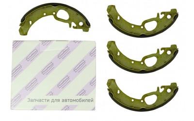Колодки тормозные 1117, 1118, 1119 задние (металл 4 мм) (к-кт 4 шт) ПТИМАШ