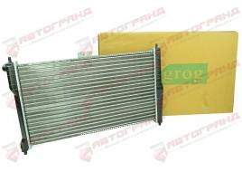 Радиатор охлаждения Lanos 1.5-1.6 с кондиионером  GROG