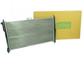 Радиатор охлаждения Lanos 1.5-1.6 с кондиционером  GROG