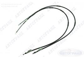 Трос привода ручного тормоза 2108, 2109, 21099, 2113-2115 (новый образец) (к-кт 2 шт) ПТИМАШ