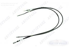 Трос привода ручного тормоза 2108, 2109, 21099 (старый образец) (к-кт 2 шт) ПТИМАШ