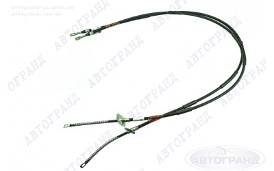 Трос привода ручного тормоза 2131 (5-ти дверная) (к-кт 2 шт) ПТИМАШ